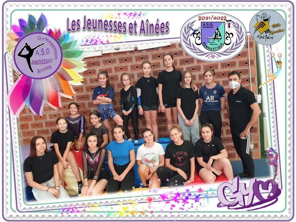 Asg jeunesses ainees 2021 2022